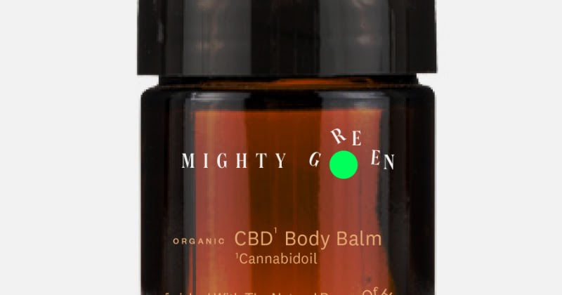 CBD Oil Mighty Green Concept – Drop Of Power