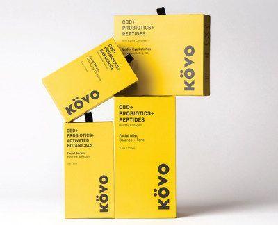 CBD Oil KOVO Essentials Skincare Prepares to Launch the First CBD + Probiotic Skincare Line