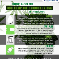 CBD Oil Different ways to take CBD Hemp Oil Product in USA in your daily life?