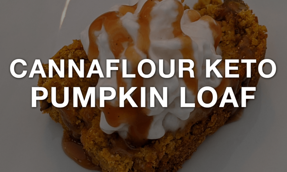 CBD Oil Cannaflour Keto Pumpkin Loaf